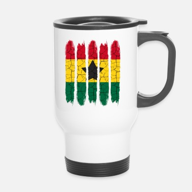 National Cadeau national Accra moderne Ghana National Colors - Mug thermos