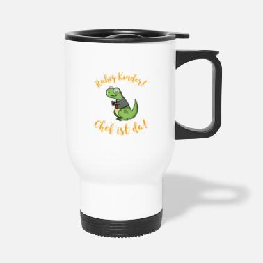 Chefchen Funny gift boss executive team work - Travel Mug