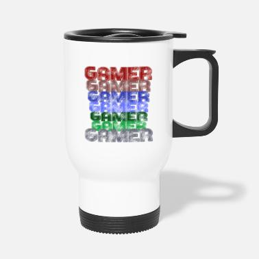 Gamer Gamer Gamer Gamer - Travel Mug