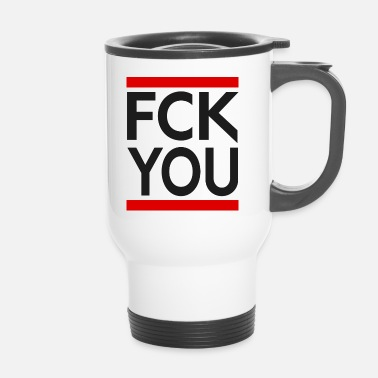 Antifa FUCK YOU Antifa Style - Tazza termica