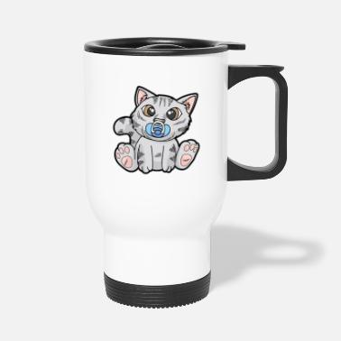 Stray Cats Baby Cat Pacifier Katte Killing Kitty Kitty - Termokrus