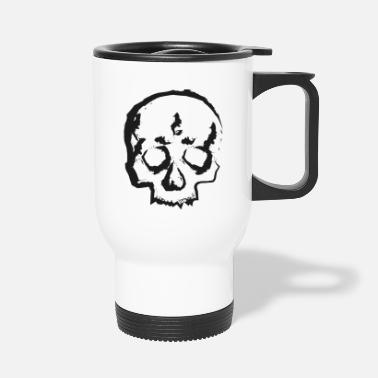 Bizzar Skull one - Thermobecher