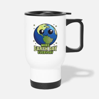 Earth Day Make Earth Day Every Day - Travel Mug