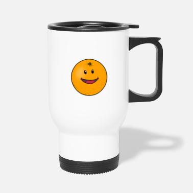 Orange Juice Orange oranges orange juice - Travel Mug