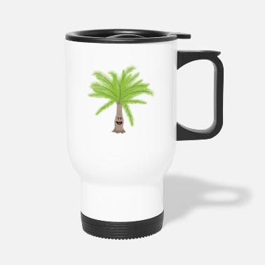 Palm Trees Palm palm trees Palm tree - Travel Mug