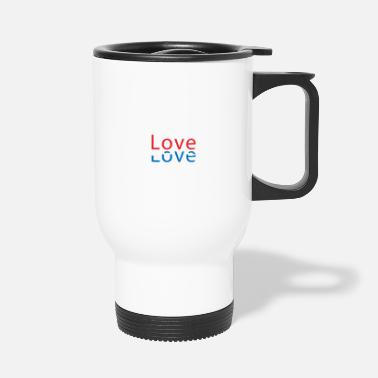 Country LOVE Luxembourg Country Country Country - Tazza termica
