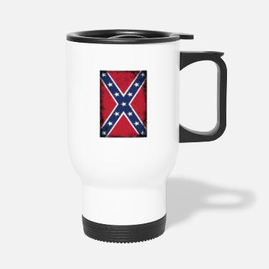 Dixie Confederate States of America Flag Southern States - Travel Mug
