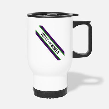 Suffragette Vintage Votes for Women Sash design Suffragettes - Travel Mug