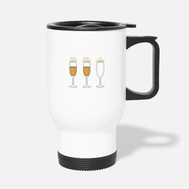 Psychology Realists Quote TShirt Design Realist beer glass - Travel Mug