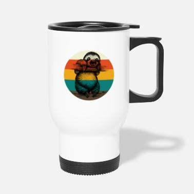 Sloth Sloth Faultier Vintage - Thermobecher