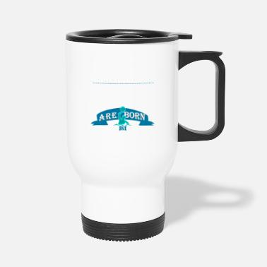 Legendary Legendary waterpolo are born in June boys - Travel Mug