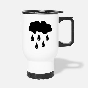 Rain Rain, rain cloud - Travel Mug