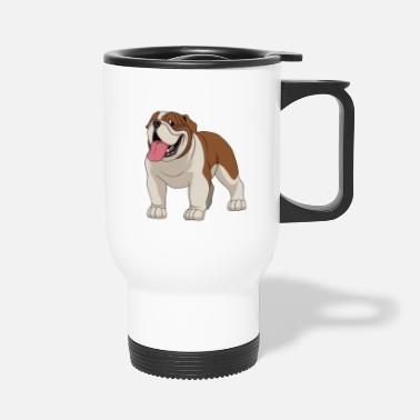 Bulldog british bulldog Bulldog - Travel Mug