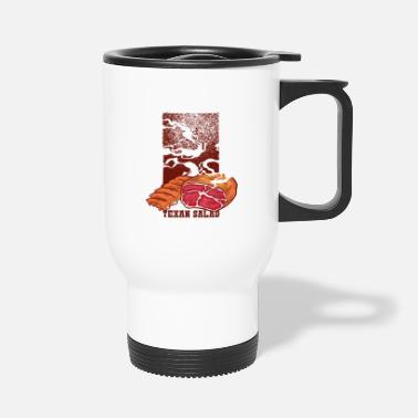 Specialty Texas Ribs Salad and Ham Meat Eater - Travel Mug