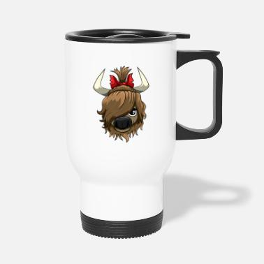Kälbchen Sweet highland cow - Travel Mug