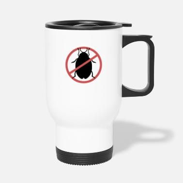 Travel Bug No Bed Bugs | Bed bugs banned bed bug travel - Travel Mug