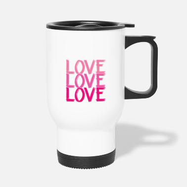 Lovely Love Love Love Love - Travel Mug