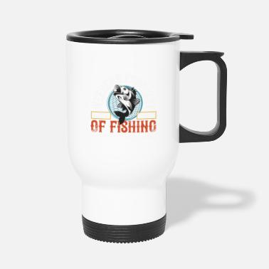 Retro With Achangeweekend Forecastof Fishing - Travel Mug