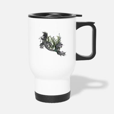 Swimming Mane Awesome seahorse - Travel Mug