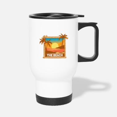 Bees Wolf Beach photography photographer and beach lover Ge - Travel Mug