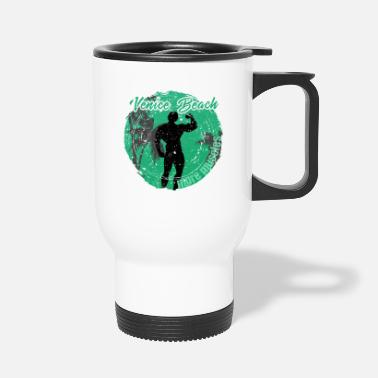 Californie Vencie Beach Plus de muscles - Mug isotherme