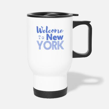 Nyc Welcome to New York Vintage - Thermobecher