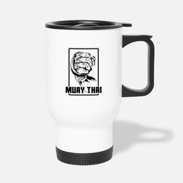 Fan Poing de Muay Thai - Mug isotherme