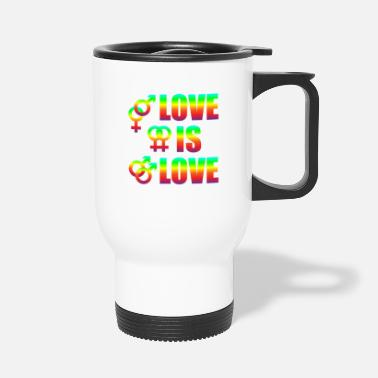 Miscellaneous Love Is Love Gay Lesbians Love Freedom - Travel Mug