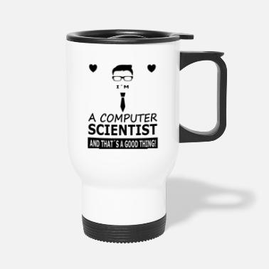 Computer Science Computer science student in computer science - Travel Mug