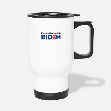Poll Biden, Biden 2020, Biden President, Anti Trump - Travel Mug