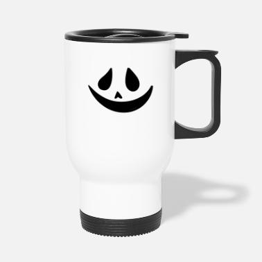 Others Ghost Smiling Face - Travel Mug
