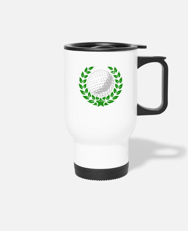 Golf Sport Mugs & Drinkware - Golf - golf sport - Travel Mug white