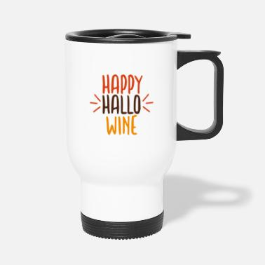 Pumpkin Happy Halloween - Travel Mug