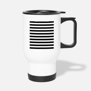 Mime Mime Stripes Gift for Mime - Travel Mug