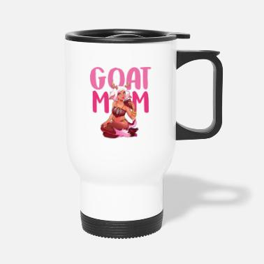 Goat Goat mom - Travel Mug