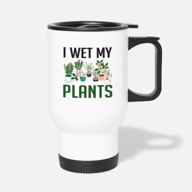 Citat I Wet My Plants Funny Plant Lover Girls T Shirt - Termokrus