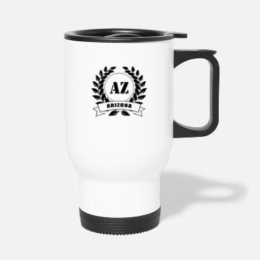 Tourist Arizona Laurel Wreath USA - Travel Mug