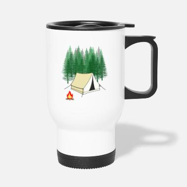 Forest Dweller Scout Expedition Adventure Tent Camping - Travel Mug