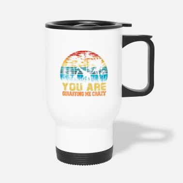 Safari Adventure In Africa Giraffe Safari - Travel Mug