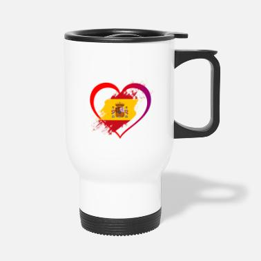 Spanish Spanish Heart - Travel Mug