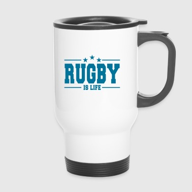 rugby is life 1 - Kubek termiczny