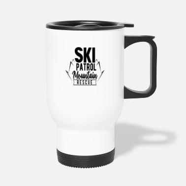 Rescue Ski rescue mountain rescue - Travel Mug