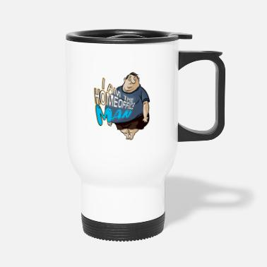 Home Office Man I'm the Home Office Man Gift T Shirt Idea - Travel Mug