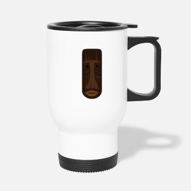 Tikki Tikki mask - Travel Mug