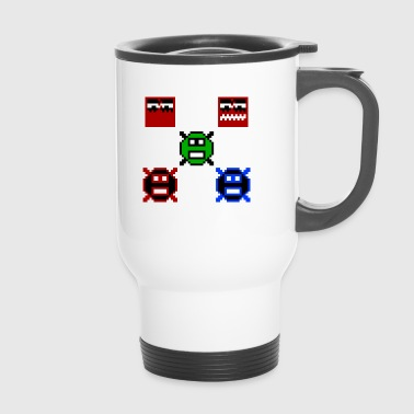 Retro Retro Gaming - Travel Mug