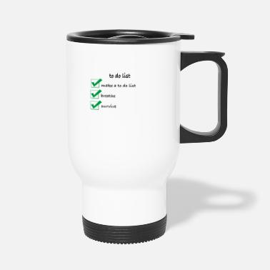 List To do list - Travel Mug