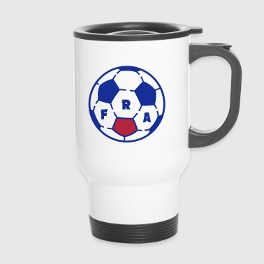 Ballon foot FRANCE - Mug thermos