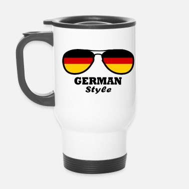 I Drapeau Allemagne - style allemand - Mug isotherme