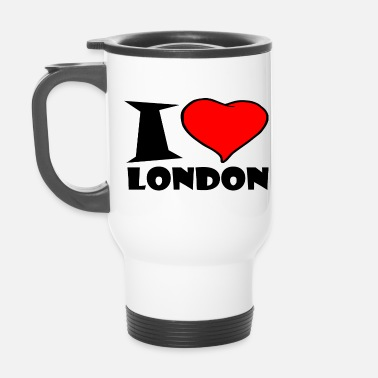 London London - Ich Liebe london - Thermobecher