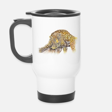 Outil Swirly Leopard - Mug isotherme